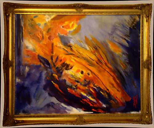 Raging Fire - Figurative